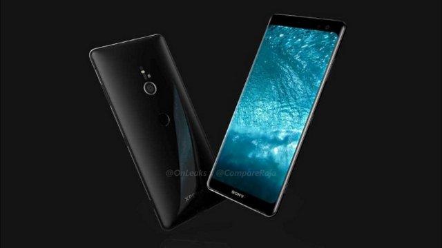 В сети появились новые подробности и качественные рендеры смартфона Sony Xperia XZ3