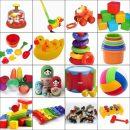 Игры и детские игрушки годовалых малышей