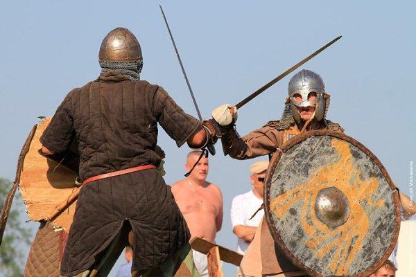 Более 7500 туристов посетили фестиваль исторической реконструкции эпохи викингов «Кауп» в Зеленоградске