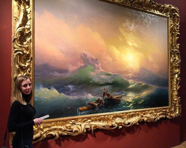 Русский музей показал полотна Репина и Айвазовского в Токио